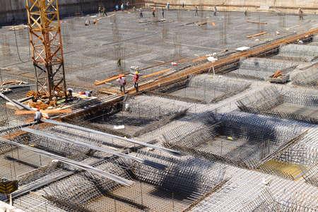 materiales de construccion: El sitio de construcci�n