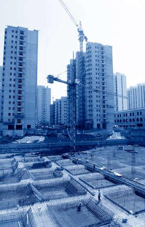 site: The construction site