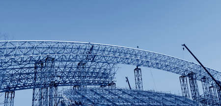 metal structure: Is the construction of steel structure buildings