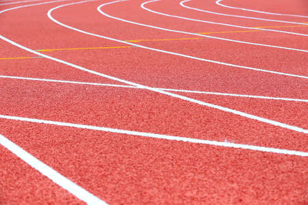 Beautiful runway in track and field