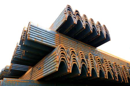 a stack of steels Stock fotó