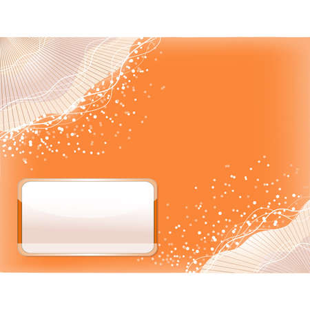 circl: Orange background