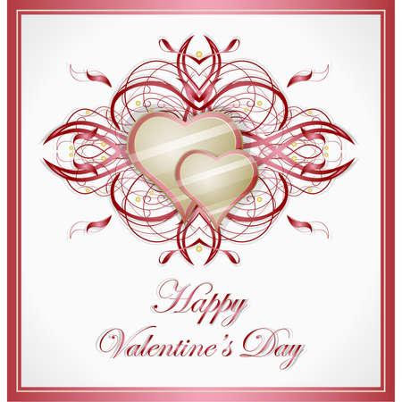 Valentines hearts. Stock Vector - 17479736