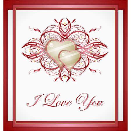 Valentines hearts.