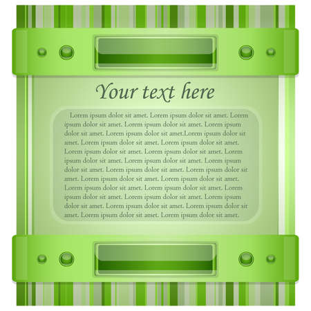 Gray - green background with layout   Illustration 10 version Stock Vector - 17564530