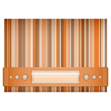 Orange - brown background   Illustration 10 version