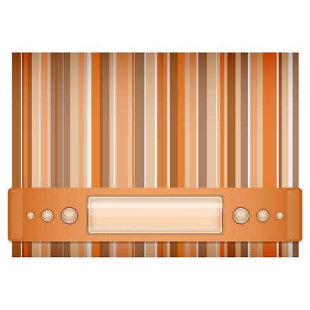 Orange - brown background   Illustration 10 version Stock Vector - 17564528