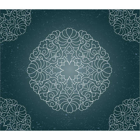 Vintage background with ornament Stock Vector - 17691164