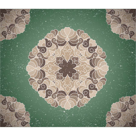 Vintage background with ornament. Illustration 10 version Stock Vector - 17695662