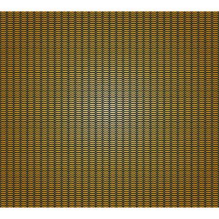 Golden fabric seamless pattern Vector
