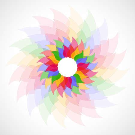 Abstract transparent background  Illustration 10 version