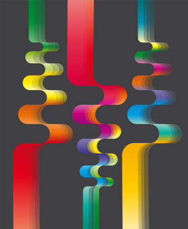 Abstract colorful background  Illustration 10 version  Illustration