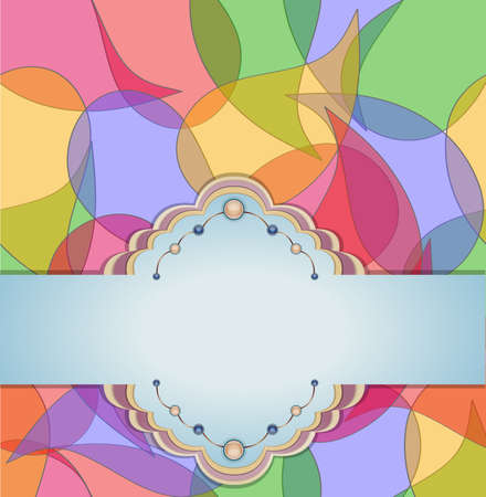 Abstract transparent background  Illustration 10 version  Vector