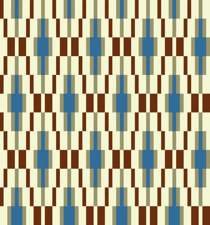 Fabric seamless pattern. Illustration 10 version Illustration