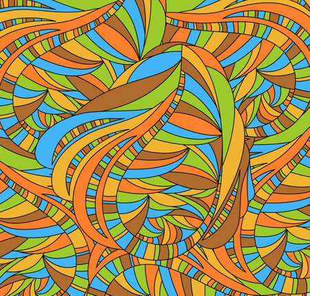 Retro background with abstraction. Illustration 10 version