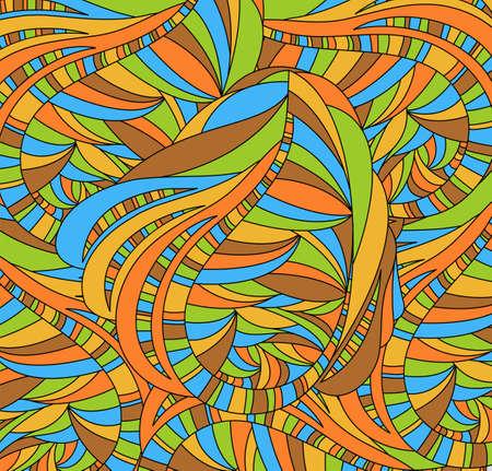 abstrakce: Retro pozadí s abstrakcí. Ilustrace 10 verze