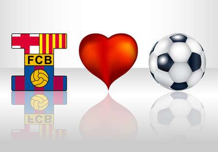 I love fc barcelona.