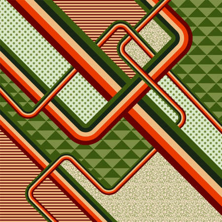 stile: Retro stile abstract  background. Illustration 10 version Illustration