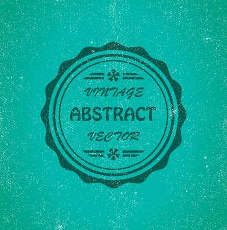 leathern: Vintage abstract background. Illustration 10 version