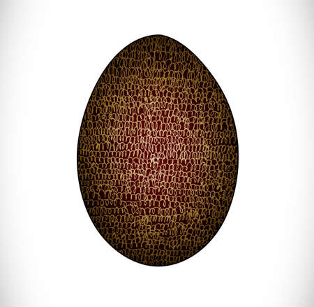 Colorful easter egg. Illustration 10 version Illustration