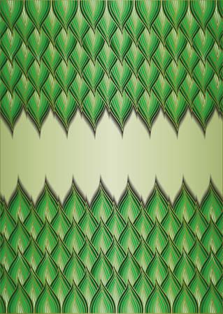 Floral abstract background. Ilustração