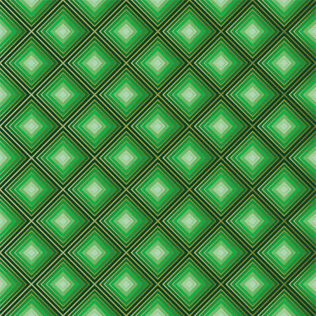 Geometric green abstract background. Ilustração