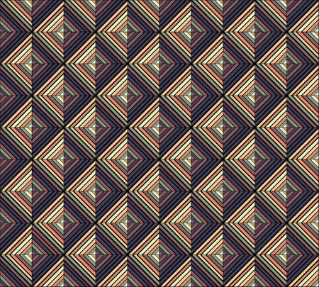 Geometric brown abstract background. Imagens - 98747697