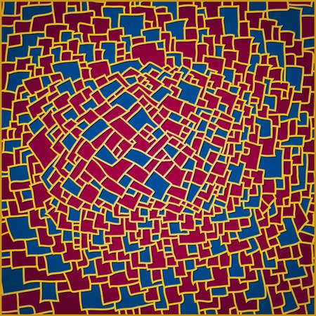 Blue  pomegranate background vector illustration Imagens - 98747704