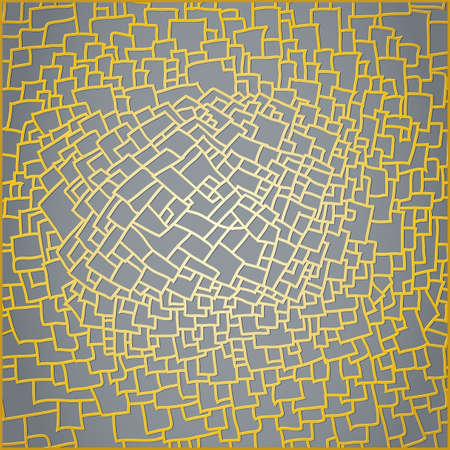 Abstract splinters pattern design