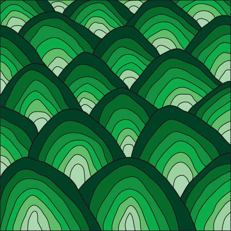 Abstract hills pattern design Imagens - 100513561