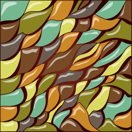 Abstract colorful pattern design Ilustração