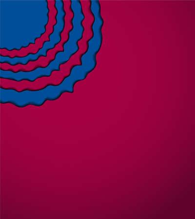 Blue - pomegranate background. Illustration 10 version.