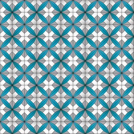 Tile background with ornament. Illustration 10 version