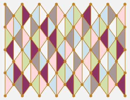 Colorful geometric background. Illustration 10 version