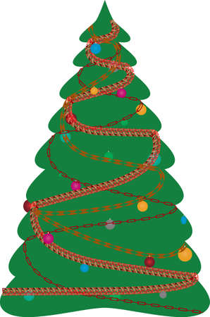 furtree: The decorated christmas fur-tree