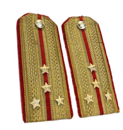 2 smarts gold officer epaulets
