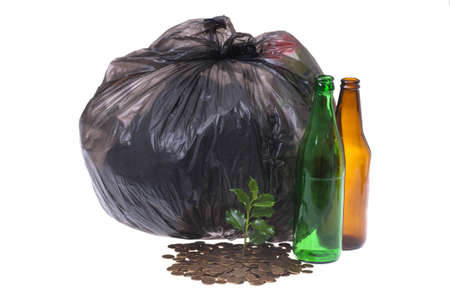 recycling money Stock Photo - 9830218