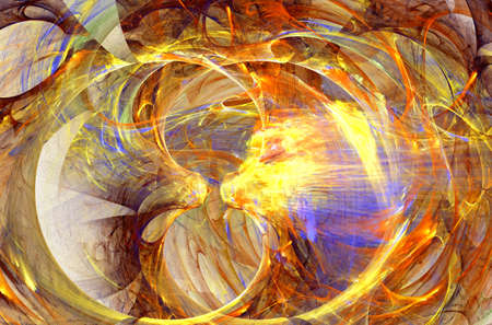 fractal labyrinth, colorful abstract textures