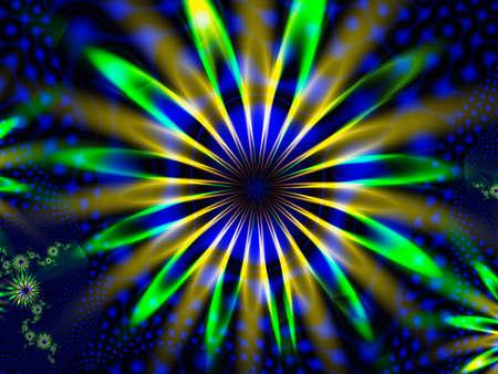 Artistic background made of fractal elements Banco de Imagens