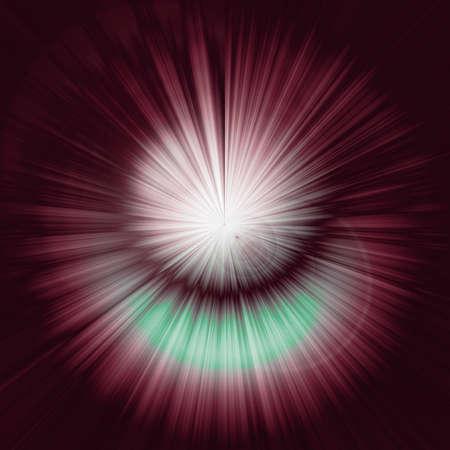 starburst on light beam gradient background Banco de Imagens