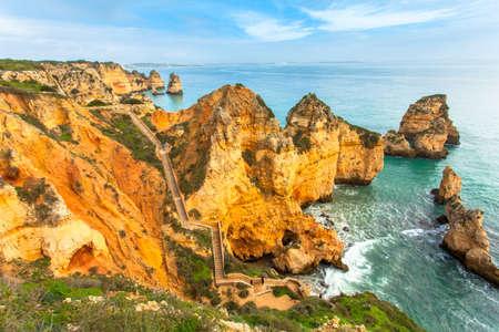 booked: Ponta de Piedade Algarve rockycoast