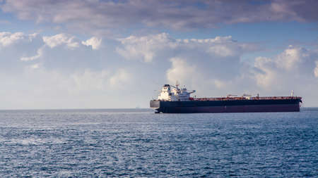 merchant: Industrial merchant ship in the Strait of Gibraltar