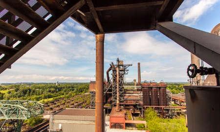 ruhr: Landschaftspark Nord Duisburg blast fornace Ruhr Area Germany