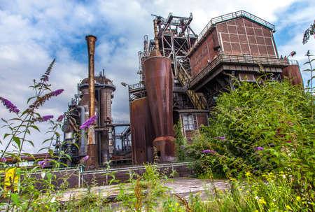 Landschaftspark Nord Duisburg blast fornace