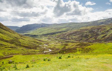 Blairgowrie Glenshee Scotland Highlands Landscape Northwest Trail