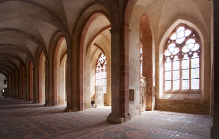 Kloster Eberbach in Eltville am Rhein im Rheingau Hessen Naturpark Rhein-Taunus Deutschland
