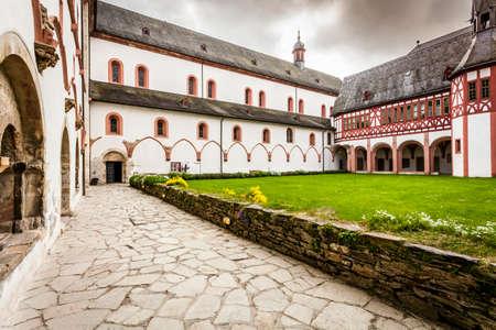 hessen: Kloster Eberbach in Eltville am Rhein im  Rheingau  Germany