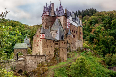 Burg Eltz in the Eifel one of the most famous castles in Germany rhineland palatinate Editorial