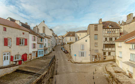 Langres historic City in Champagne Ardenne France Europe Standard-Bild