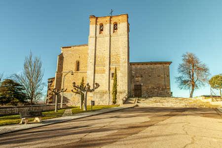 Kirche von Carrion de los Condes  Tierra de Campos  Castile Spain